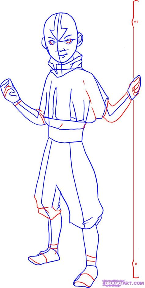 How To Draw Avatar Last Airbender