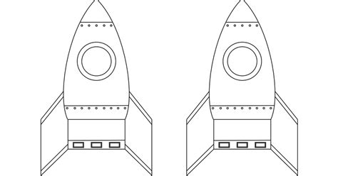 rocket card template crafts for that can really fly pdf craft and spaces