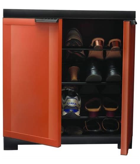 Freedom Filing Cabinet Nilkamal Freedom Mini Shoe Cabinet 09 Rust Weather Brown Prices In India Shopclues