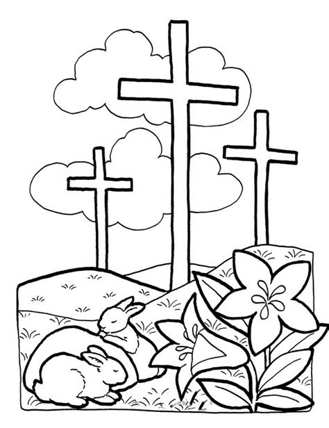 preschool coloring pages easter religious good friday coloring pages and pintables for kids school
