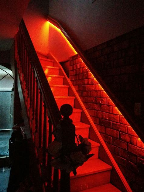 philips hue light strip hack   rgb smd  stairs