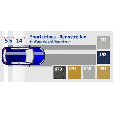 Folie 3m Carbon by Auto Aufkleber Rennstreifen Sportstripes Carbonfolie