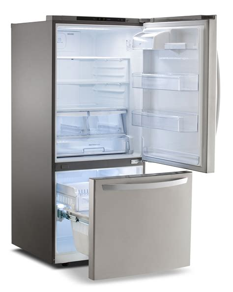 Lg Freezer lg appliances stainless steel bottom freezer refrigerator
