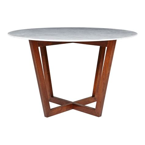 designer italian marble dining table walnut wooden