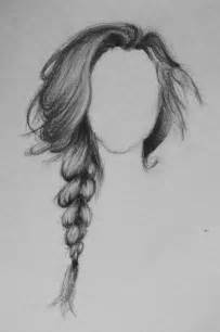 pencil drawing of hair styles of elegant braid drawing pinteres