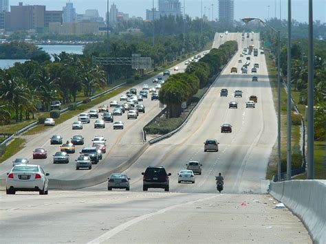 Miami Dade Traffic Search File I 195 Miami Eastbound Jpg Wikimedia Commons