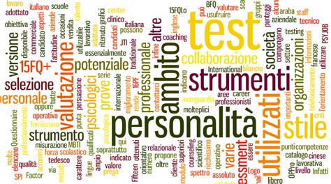 i test psicoattitudinali e i test psicologici sul lavoro e