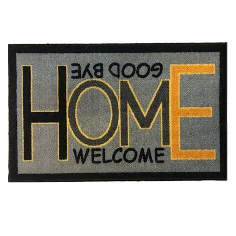 Porte De 80 Cm 2392 by Tapis De Sol Boucl 233 Home Welcome Bye 50 Cm X 80 Cm