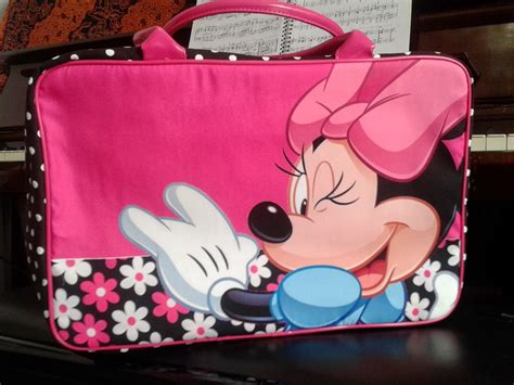 Travel Bag Kanvas Tas Tenteng Baju jual tas travel bag anak murah minnie mouse