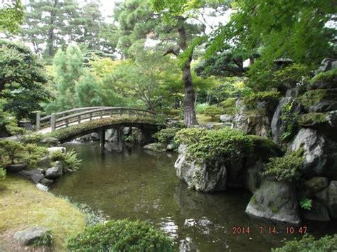 el jardin zen palacio imperial de kyoto foto di