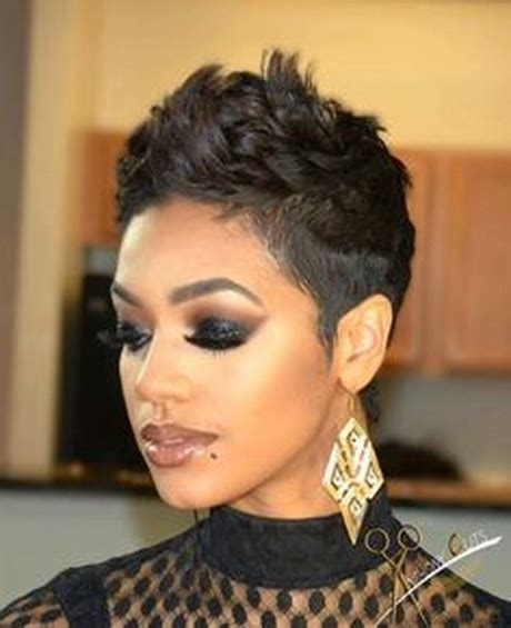sharp looking short hair cut for black women short black haircuts for women 2016
