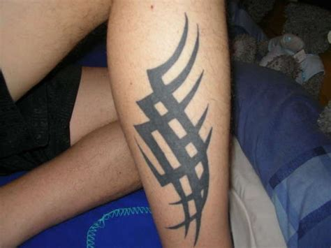 26 Fascinating Tribal Leg Tattoos Only Tribal Tribal Tattoos On Leg
