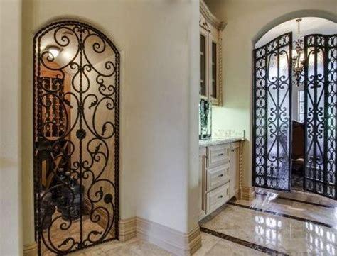 Iron Pantry Door by Pantry Those Iron Doors Home