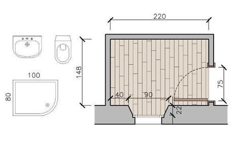 progetto bagno 2x2 piccolo bagno come progettarlo