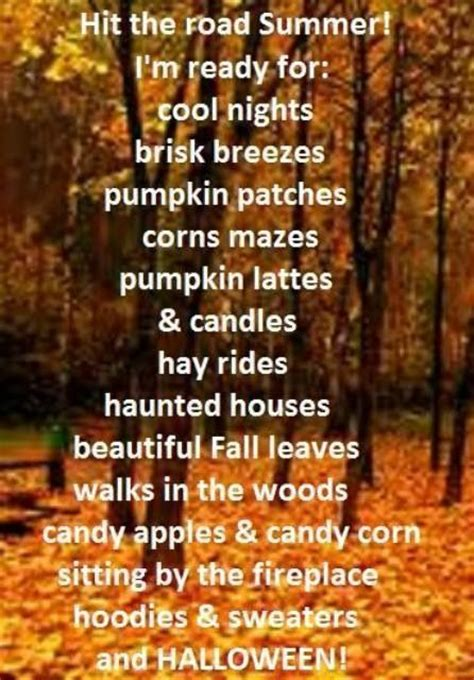 Get Ready For Autumn Fall Ready For Fall Weather Quotes Quotesgram