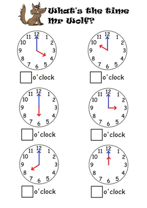 clock worksheets ks1 telling the time to o clock half past by sophiemhorton