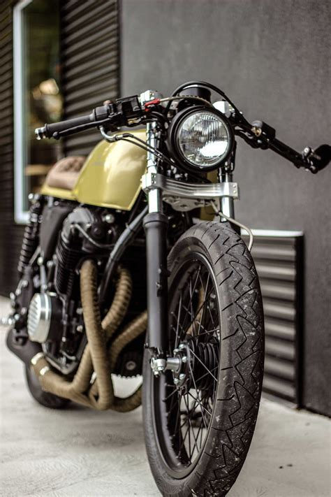 Handmade Cafe - honda cb750 custom by purebreed motorcycles