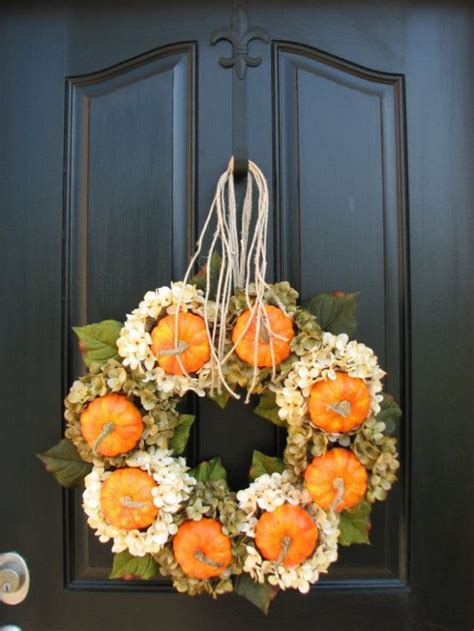 budget fall decorating ideas door ideas fall home tour 67 cute and inviting fall front door d 233 cor ideas digsdigs