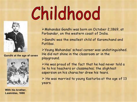 mahatma gandhi biography conclusion gandhi