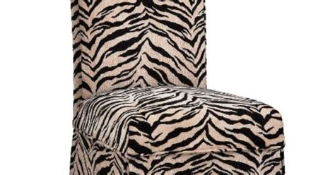 Zebra Dining Chair Covers Parsons Chair W Zebra Parsons Chair Pinterest Zebra Print Parsons Chairs And Dining