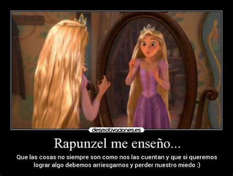 imagenes de rapunzel triste carteles rapunzel enredados disney enseno desmotivaciones