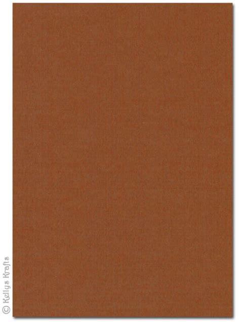 high quality 270gsm a4 card chocolate brown 1 sheet 163