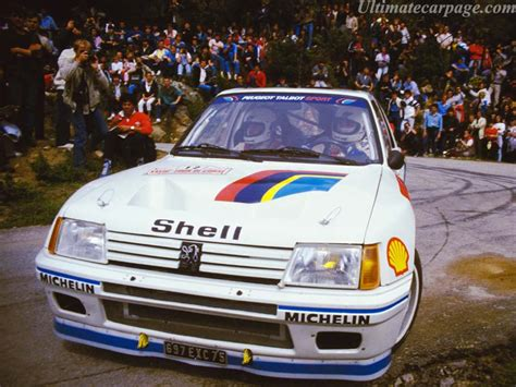 peugeot 205 group b peugeot 205 t16 group b high resolution image 1 of 18