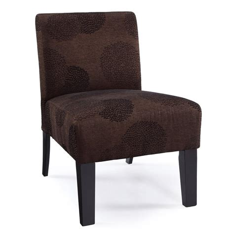Brown Accent Chair Shop Dhi Deco Brown Sunflower Accent Chair At Lowes