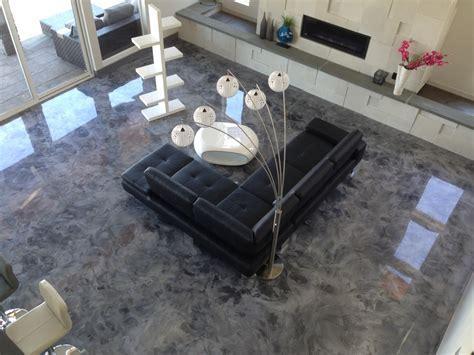 Good Metallic Epoxy Basement Floor : Ideas Paint Metallic