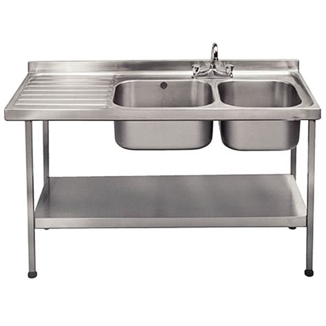 self stainless steel sink franke self assembly stainless steel sink right bowl
