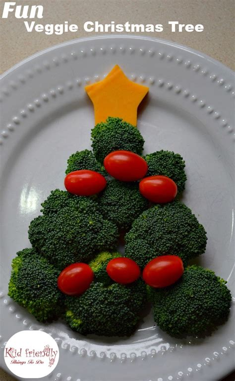 christmas tree snack by pilsbury vegetable tree shaped snack kid friendly things to do