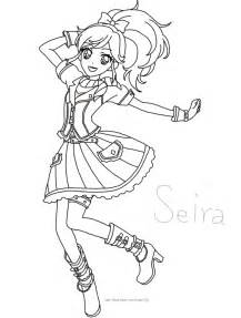glitter force coloring pages anime sketch coloring