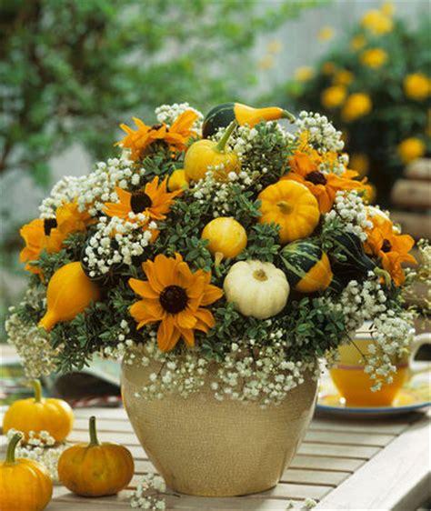 fiori nel vaso zucche e fiori nel vaso donna moderna