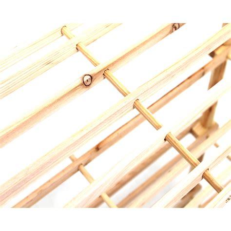 Wooden Shoe Shelf by 4 Tier Wooden Shoe Rack Vertical Slatted Shelf Storage Unit