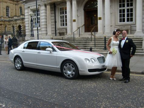 white bentley bentley flying spur white bentley wedding car hire in