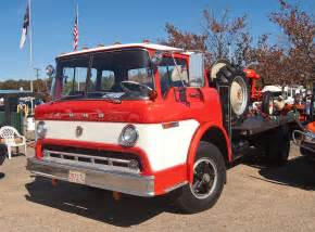 Ford Cabover Ford C Series Cabover Truck With A Restored Ford Tractor O