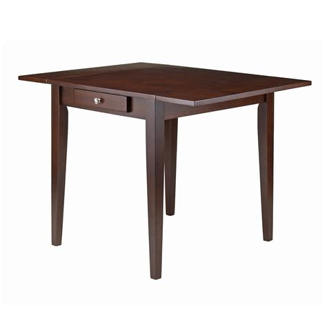 winsome wood hamilton collection double drop leaf dining