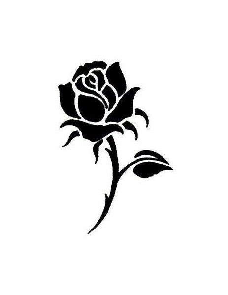 rose silhouette tattoo afbeeldingsresultaat voor silhouette decoraciones