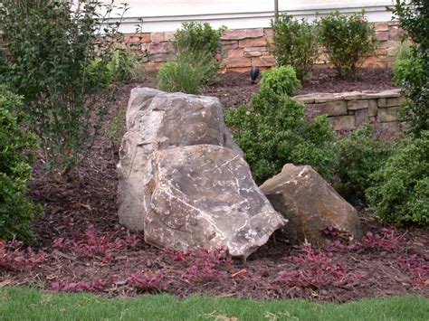 landscaping with boulders home landscape design professional review lanscape information