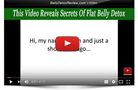 Flat Belly Detox Blueprint by Flat Belly Detox Review 2017 Is It For You