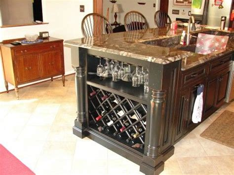 kitchen islands with wine rack 1000 ideas about wine rack cabinet on wine cellars wine racks and hanging wine rack