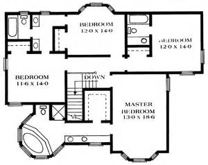 Queen Anne Floor Plans Floor Plans Aflfpw21628 2 Story Queen Anne Home With 4