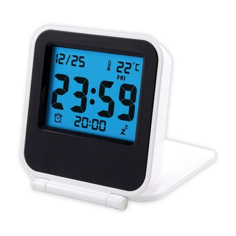 Royals Digital Picture Frame And Travel Alarm Clock by Digital Travel Alarm Clock Corporate Branded Printed