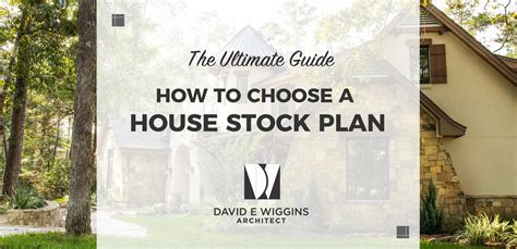 how do i choose a house plan