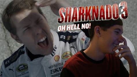 Oh Hell Yes Minnillo Lives Out My by Reaction Sharknado 3 Oh Hell No Extended Trailer
