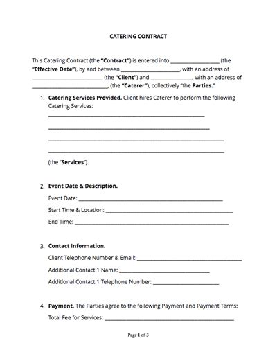 contract templates  agreements   samples docsketch