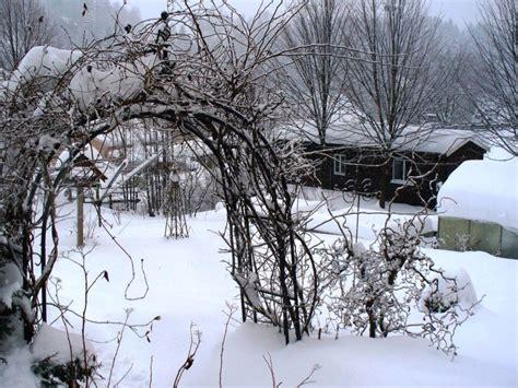 Garten Im Winter by Ferienwohnung In Pobershau Am Wildsberg An Der