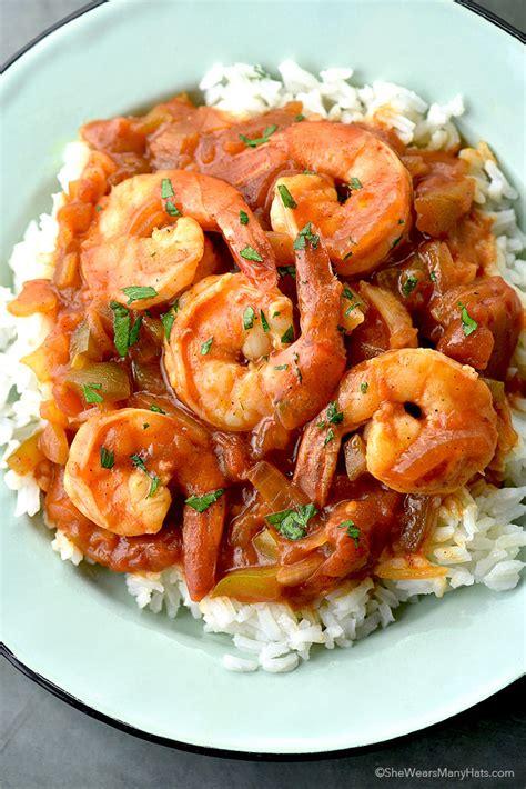 shrimp creole recipe she wears many hats