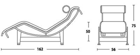 chaise lounge dimensions le corbusier chaise lounge