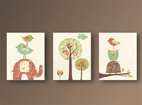 Nursery Wall Decor Nursery Wall Nursery Baby Nursery Room Decor Owl